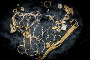 Image of gold and silver jewelry for the gold a silver buying page