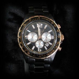 Image of a nice watch on the jewelry store OKC page