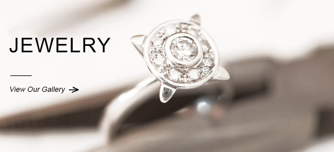 Image of a diamond ring for the jewelry for sale slider that leads to the jewelry page